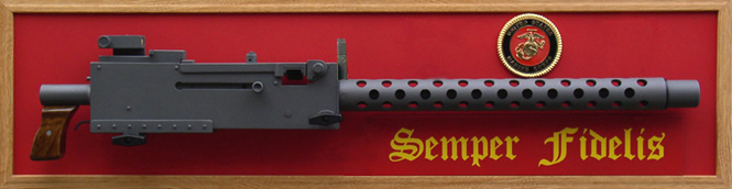 Guns of Liberty Marine 1 Browning M1919A4 Display Replica Semper Fidelis