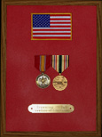 Gulf War Service Honor Plaque