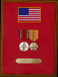 WWII Service Honor Plaque